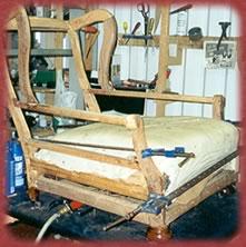 ej upholstery frame repairs